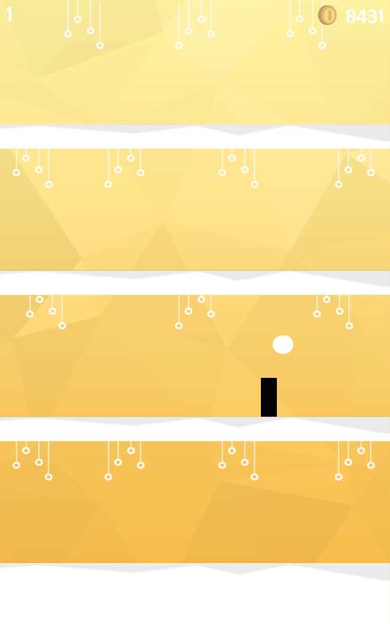 Bulb Out - Ball Jumping Game- screenshot