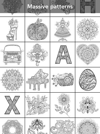 Mandala Coloring Book 3.1.4 screenshots 18