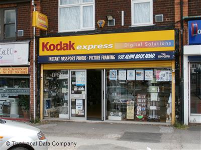 Kodak Express on Alum Rock Road - Film Developers in Ward
