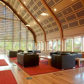 Kroon Hall - Yale by Paige Engel - Buildings & Architecture Other Interior