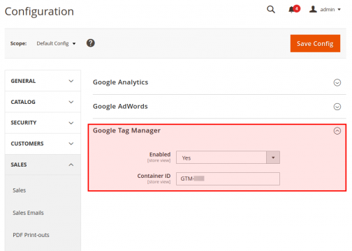 excellent Google tag manager magento extension