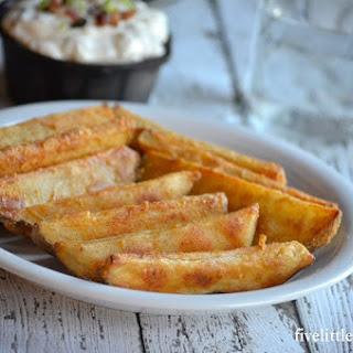 Seasoned Potato Wedges.