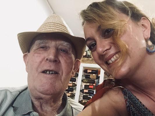 Stupirsi a 90anni - selfie col nonno di panty