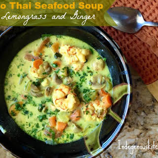 Paleo Thai Seafood Soup.
