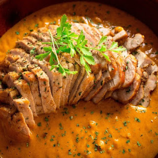 Pork Tenderloin With Cognac Cream
