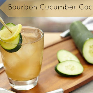Refreshing Bourbon Cucumber Cocktail