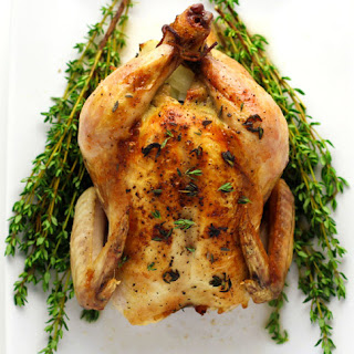 White Wine And Thyme Roasted Cornish Game Hens