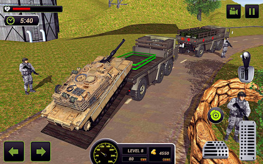 US Army Truck Driving 2018: Real Military Truck 3D Apk 2