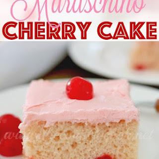 Maraschino Cherry Cake Recipe