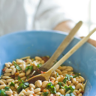 White Beans with Sun-Dried Tomato Vinaigrette Recipe