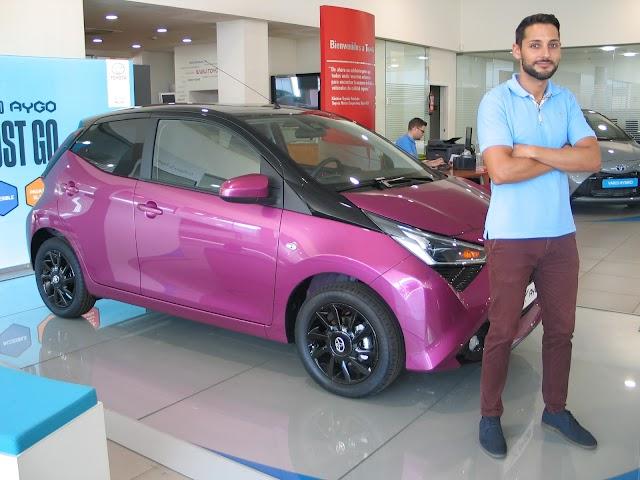Jesús Segura, responsable de ventas de Toyota Alboran Motor