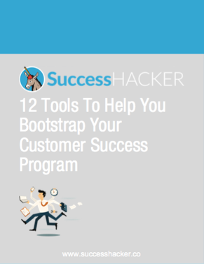 12 Tools To Help You Bootstrap Your Customer Success Program Quick Reference Guide