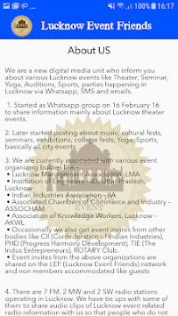 Download Lucknow Event Friends APK latest version app for android
