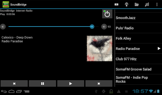 Remote for SoundBridge- screenshot thumbnail