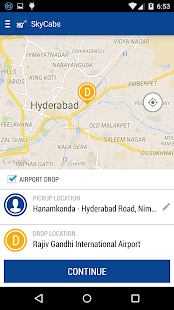 Sky Cabs -Radio Taxi Hyderabad- screenshot thumbnail