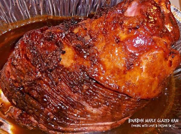 Bourbon Maple Glazed Ham