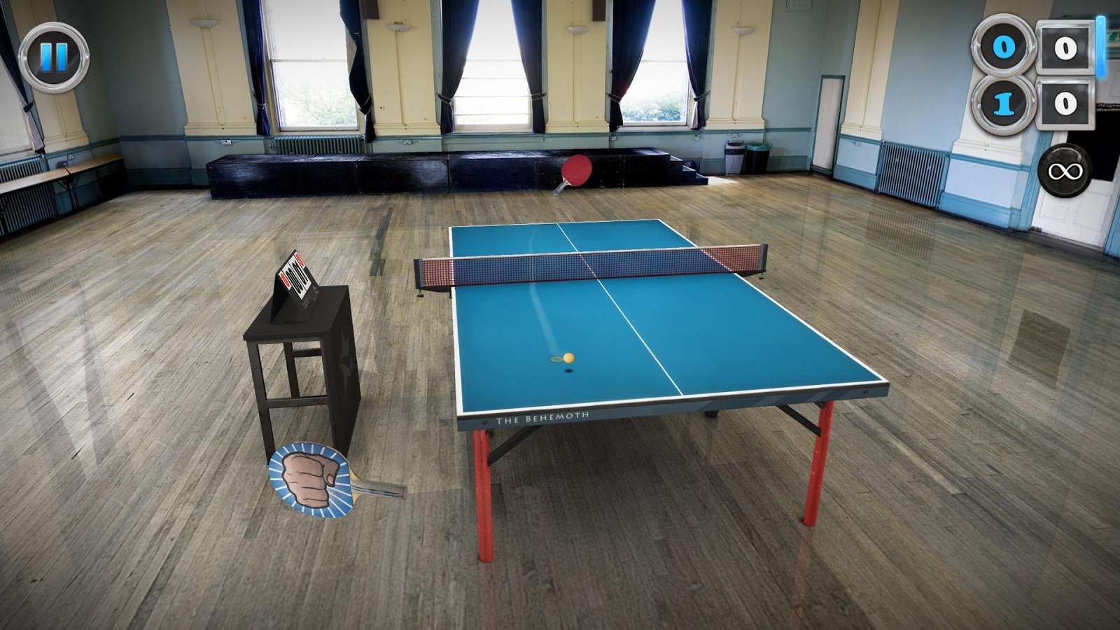 Table Tennis Touch: captura de pantalla