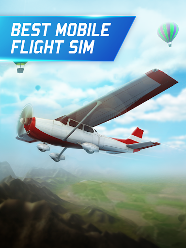Flight Pilot Simulator 3D Free for Android apk 2