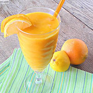Mango Citrus Veggie Juice {No Added Sugar, Dairy & Gluten Free}