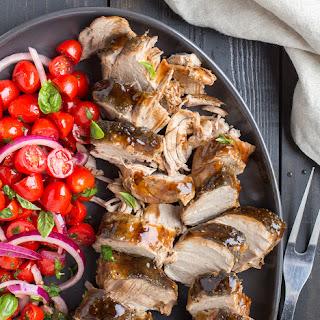 Balsamic-Glazed Pork Tenderloins.