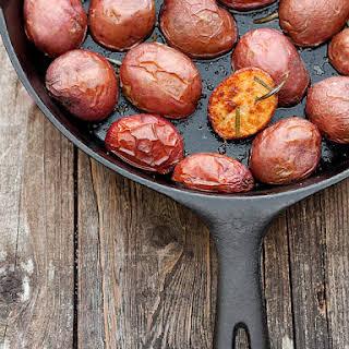 Crispy Skillet Rosemary Potatoes.