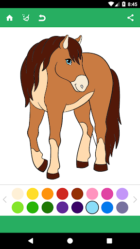 Horse Coloring Pages 1.8 screenshots 1