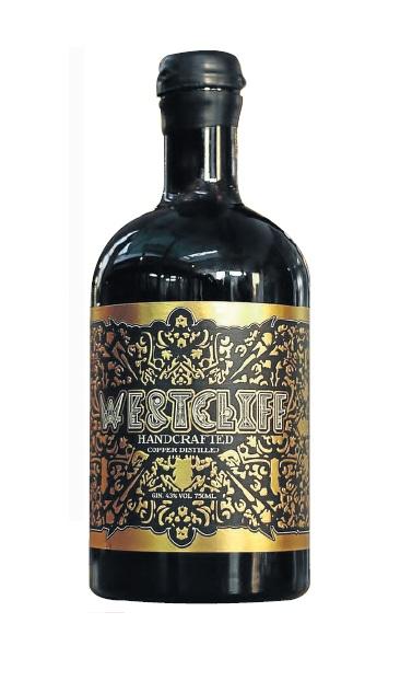 Westcliff Copper Distilled Gin.