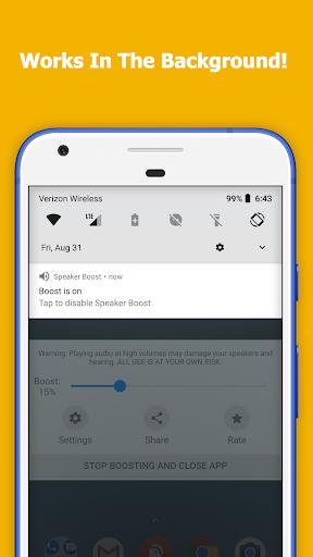 Speaker Boost - Volume Booster 3.0.7 screenshots 2