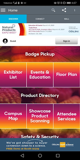 Screenshot for Natural Products Expo in United States Play Store