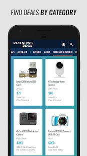 RIZKNOWS Deals- screenshot thumbnail