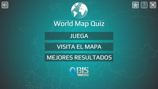 Mapa del Mundo - Quiz screenshot
