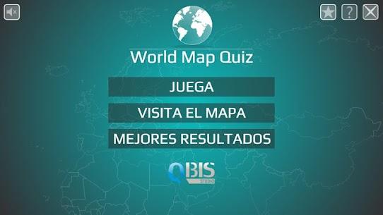 Mapa del Mundo Quiz 1