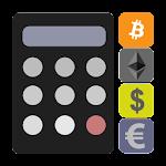 Crypto Currency & Bitcoin Calculator Icon