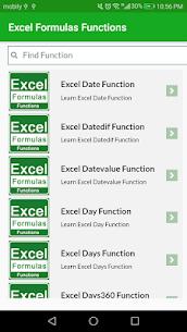 Learn Excel Formulas Functions Example App Offline 4