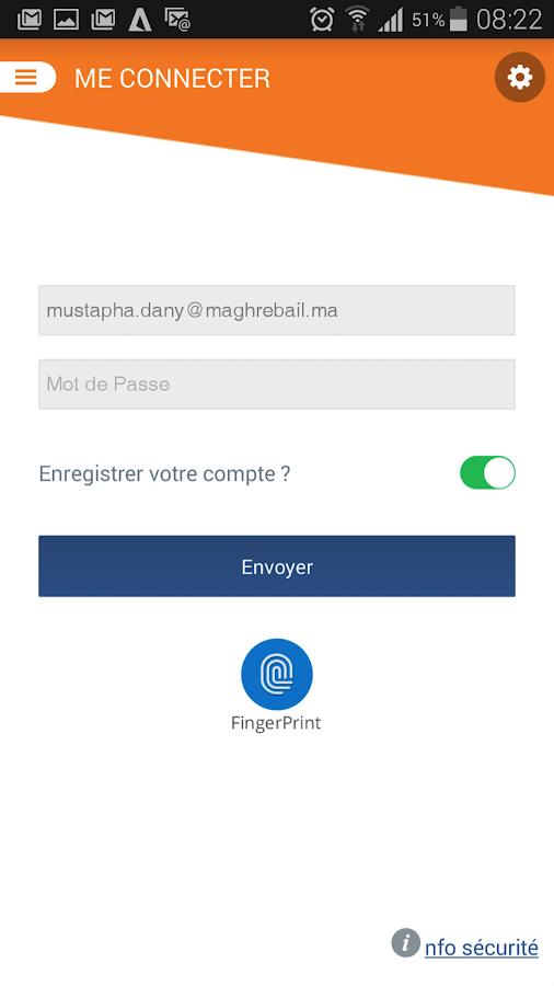 Maghrebail- screenshot
