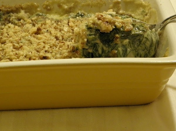 Surprise Spinach Casserole Recipe