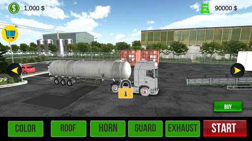 Code Triche Simulateur de camion 2020 : Europe APK MOD screenshots 2