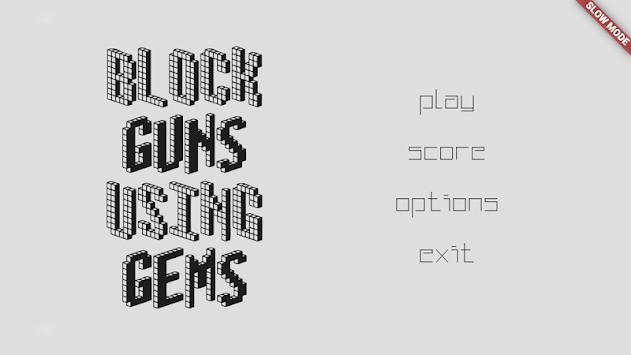 Break Guns Using Gems! apk screenshot