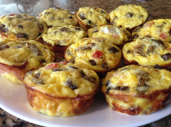 Light & Easy Muffin Pan Omelets Recipe