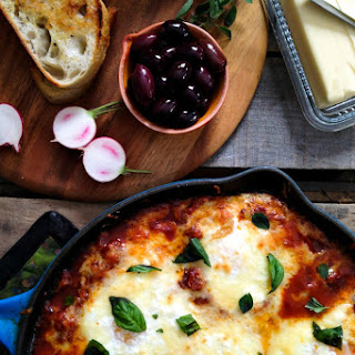 Portuguese Style Baked Eggs.