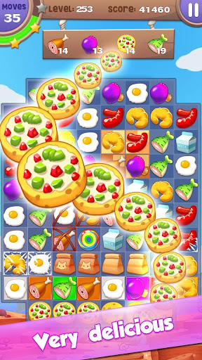 Cooking Mania: Ultra Fun Free Match 3 Puzzle Game 2.0.1.3107 3