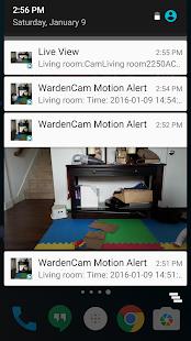 App Home Security Camera WardenCam - reuse old phones APK for Windows Phone