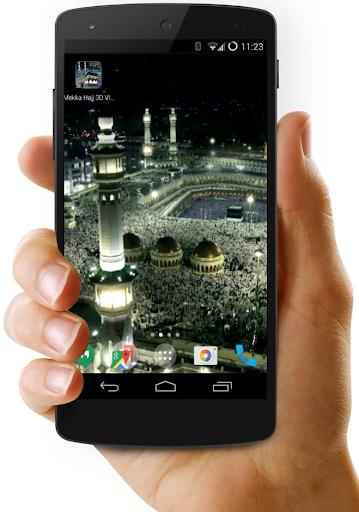 Mekka Hajj 3D Video Wallpaper