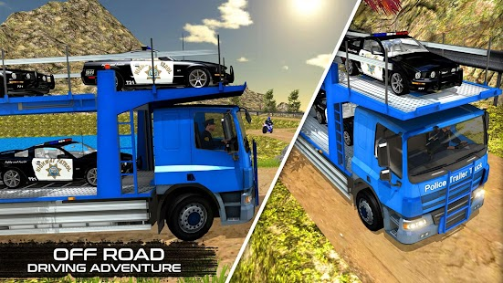 OffRoad Police Transport Truck- screenshot thumbnail