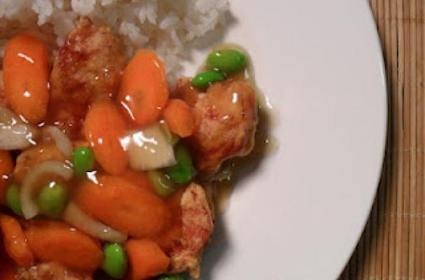 Chicken Tangsuyuk (Korean Sweet N Sour Chicken) Recipe