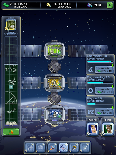 Idle Tycoon: Space Company  screenshots 15