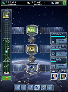 Idle Tycoon: Space Company Screenshot