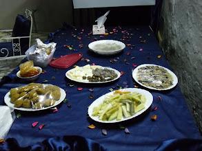 Photo: Cena a casa di Abir