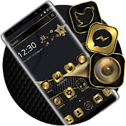 Free Download Luxury Golden Black Business Theme APK for Samsung