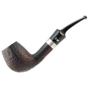 Stanwell Sterling Black Sandblast 403
